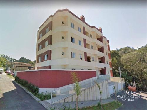Apartamento Com 3 Dormitórios À Venda, 70 M² Por R$ 335.000,00 - São Domingos - São José Dos Pinhais/pr - Ap0756