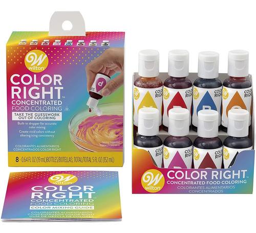 Sistema De Color De Rendimiento De Color Wilton Color, Siste