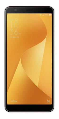 Imagem 1 de 5 de Asus ZenFone Max Plus M1 ZB570TL Dual SIM 32 GB ouro-solar 3 GB RAM