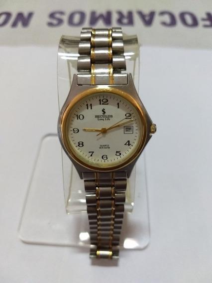 Relógio Seculus Long Life Maculino Quartz W/r 5atm