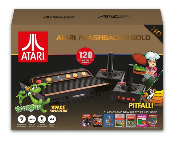 Atari Flashback 9 Gold.