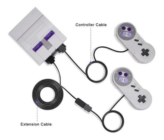 Cabo Extensor Para O Controle Do Snes Classic Edition Mini.