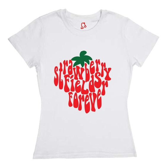 Blusa O Playera The Beatles - Strawberry Fields Forever