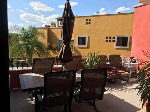 Excelente Residencia Amueblada En Renta, El Secreto, San Miguel De Allende. (da)