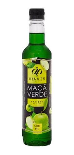 Xarope Dilute Premiun Maçã Verde 500ml Soda Italiana/drink