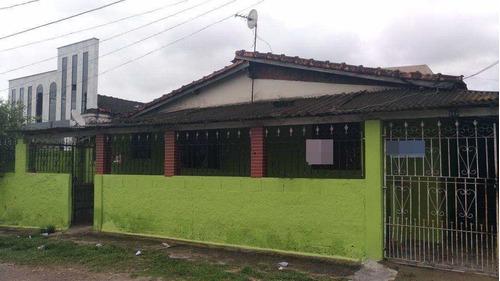 Casa Com 3 Dorms, Samarita, São Vicente - R$ 180 Mil, Cod: 1200 - V1200