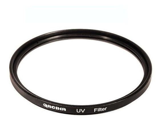 Filtro De Lente Ultravioleta 62mm Uv Greika