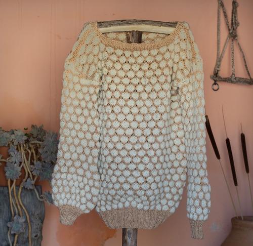Imagen 1 de 9 de Sweater 100% Fibra Ovina Mod_2
