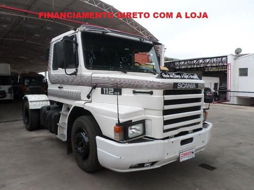 Scania 112 Hs 1989 Entrada De R$ 25.000.00 + 18x R$ 2.150.00
