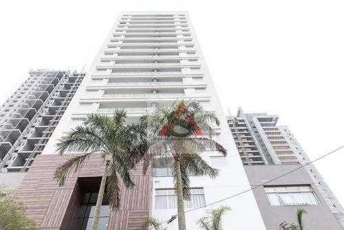 Apartamento Com 1 Dormitório À Venda, 36 M² Por R$ 625.000,00 - Brooklin - São Paulo/sp - Ap37957
