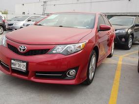 Toyota Camry Se V6 2013 Rojo Comonuevo 3 Años De Garantia