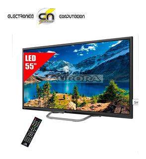 Smart Tv Led De 55 Aurora 55f7 Ultra Hd - Hdmi/usb-conv-dig