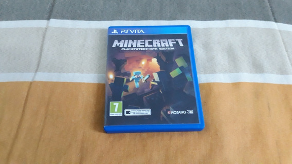 Minecraft Para Psvita - Midia Fisica [usado]