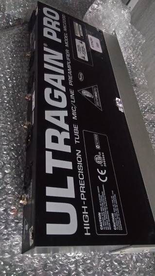 Pre Amp De Microfone Ultragain Pro
