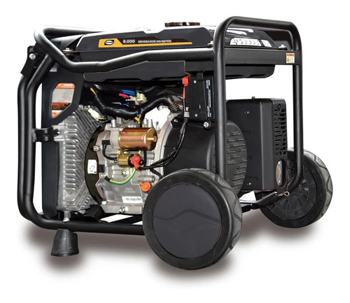 Imagen 1 de 4 de Generador Inverter Evans Monof. 9,000w 14hp Thunder Gasolina