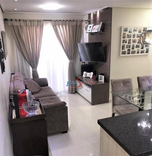 Imagem 1 de 30 de Apartamento Com 3 Dormitórios À Venda, 62 M² Por R$ 440.000,00 - Tatuapé - São Paulo/sp - Ap2424
