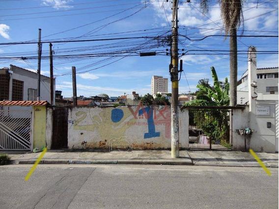 Terreno À Venda, 435 M² Por R$ 391.500 - Cidade Líder - São Paulo/sp - Te0022