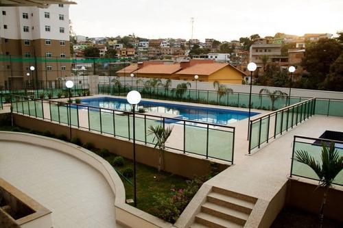 Apartamento Com 3 Quartos Para Comprar No Conjunto Califórnia Em Belo Horizonte/mg - 1419