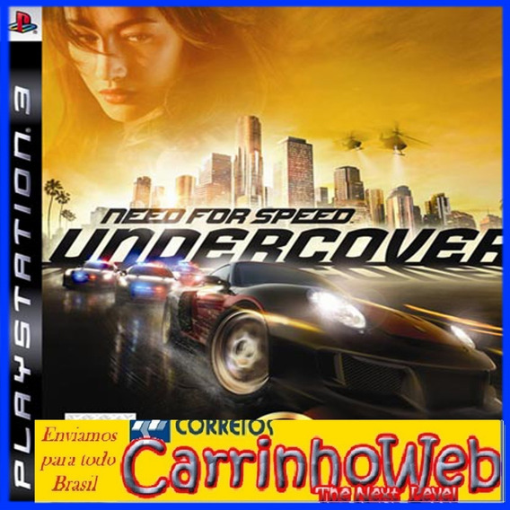 Need For Speed Undercover Ps3 (blu-ray) Promoção