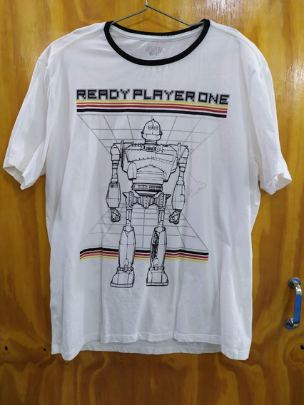 Camiseta Jogador Número 1 Ready Player Number One Tam Gg