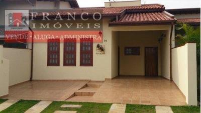 Casa Residencial Para Locação, Cond. Residencial Itapema, Valinhos. - Ca0143