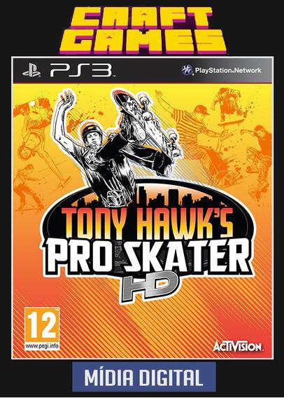 Tony Hawks Pro Skater Hd Ps3 Psn Envio Imediato
