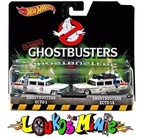Hot Wheels Ghostbusters Ecto-1 & Ecto-1a Retro Lacrado 1:64
