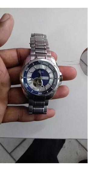 Relógio Bulova 96a137 Azul 21 Jewels Automatic
