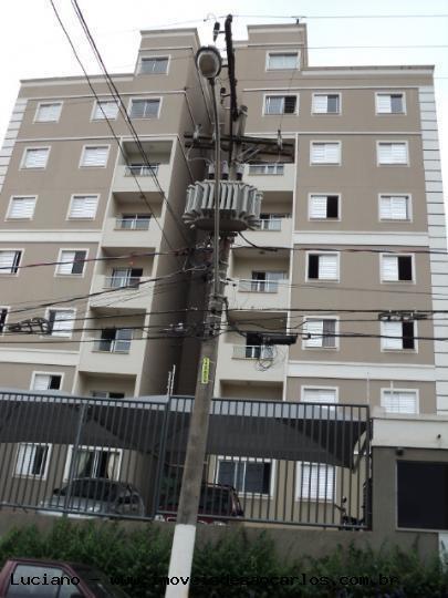 Apartamento Para Locação Em São Carlos, Centro, 3 Dormitórios, 1 Suíte, 2 Banheiros, 1 Vaga - Luce2_1-490879