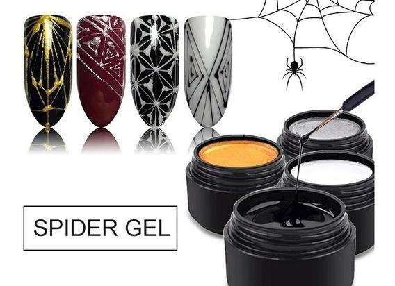Gel Spider Decoración Uñas Art Nail Manicuria