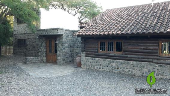 Casa Estilo Rustico 3 Dor. Con Dependencias B° Los Carolinos - (villa Warcalde) Zona Norte Córdoba-