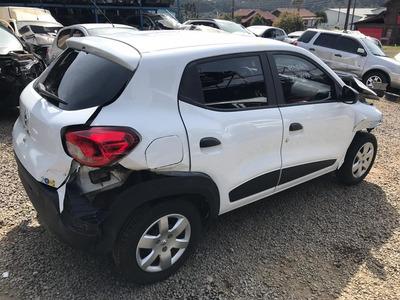 Sucata Renault Kwid 1.0 3 Cilindro 2019 Rs Caí Peças