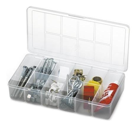 Kit 3 Unid. Mini Organizador - Caixa Com Divisórias Pequeno