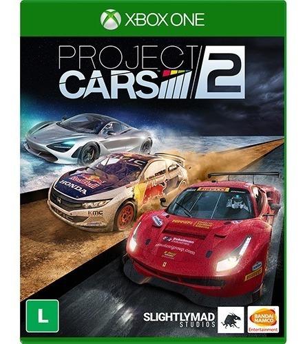 Project Cars 2 Xbox One Midia Fisica Lacrado Em Português