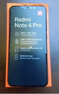 Celular Xiaomi Redmi Note 6 Pro 64gb+4gb Capa+pelicula