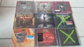 Cd Trash Metal Heavy Metal Progresive Rock Nuevos Y Sellados