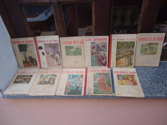 Lote C/ 11 Livros Antigos Bibl Infantil Melhoramentos - 1945