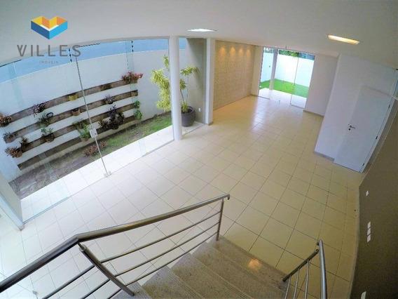 Casa Em Condomínio Fechado Com 4 Suítes À Venda, 265 M² Por R$ 860.000 - Antares - Maceió/al - Ca0121