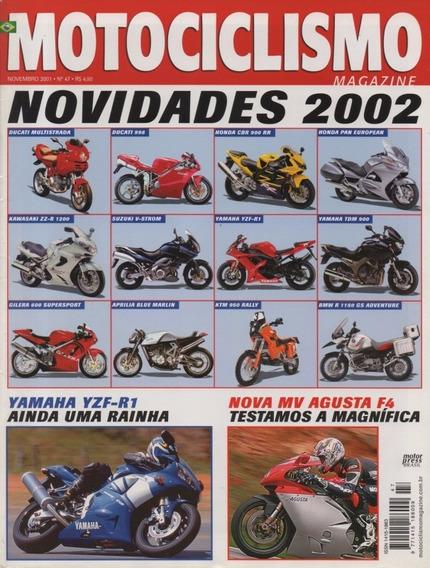 Motociclismo N°47 Mv Agusta F4 Yamaha Yzf 1000 R1 Cbr 900 Rr