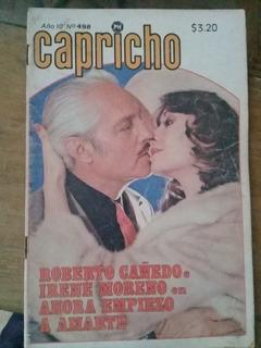 Irene Moreno Y Roberto Cañedo En Fotonovela Capricho Chica