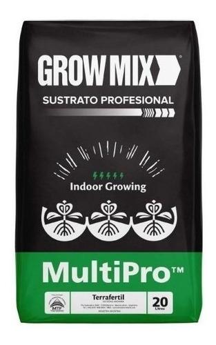 Sustrato Profesional Grow Mix Growing Indoor X 20 Lts