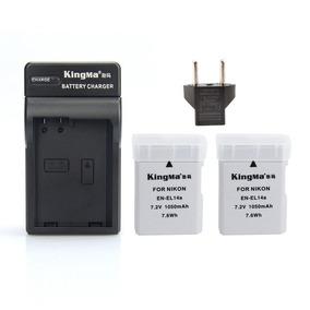 288912 El14a Kit 2 Batteries + Charger For Nik Sob Encomenda