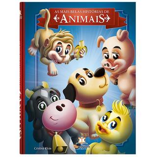 Livro Infantil As Mais Belas Histórias De Animais