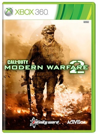 Call Of Duty Modern Warfare 2 Xbox 360 Original Frete R$12