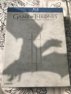 Blu-ray Original: Game Of Thrones - 3ª Temporada - 5 Discos