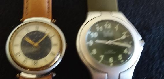 Lote 2 Relógio De Pulso Masculino Dumont E Eska