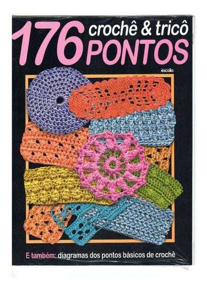 Revista Crochê & Tricô 176 Pontos Diagramas 82 Páginas