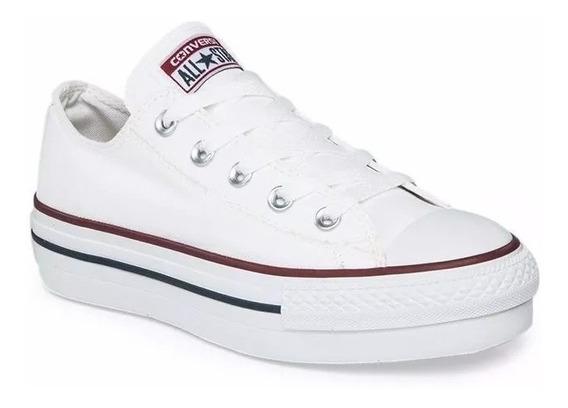 Zapatillas Converse Mujer Con Plataforma Blanca
