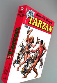 Tarzan 21 A 30 Vol 3 Encadernado Frete Grátis