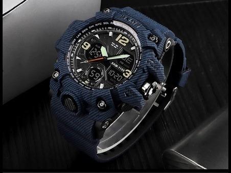 Relógio Masculino Skmei 1155 Militar Camuflado